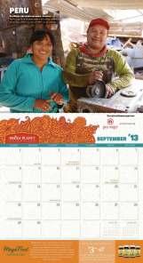 Calendario Nature's Path