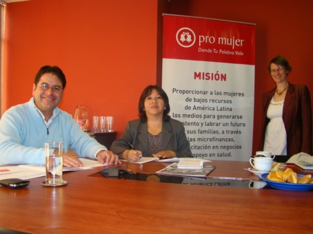 Pro Mujer and GIZ Partner to Combat Violence Against Women.