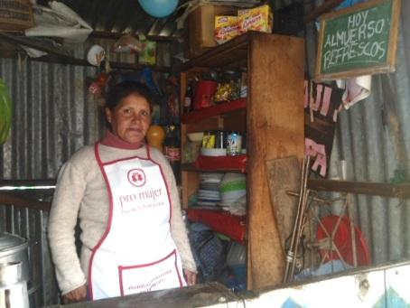 Pro Mujer en Bolivia, Andrea Avelina