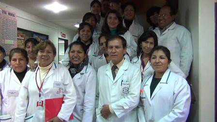 Medical team at the clinic